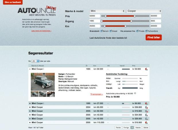 AutoUncle - Annons