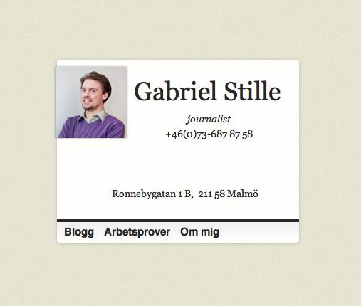 gabrielstille.se