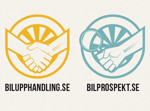 Logo till Bilupphandling.se och Bilprospekt.se